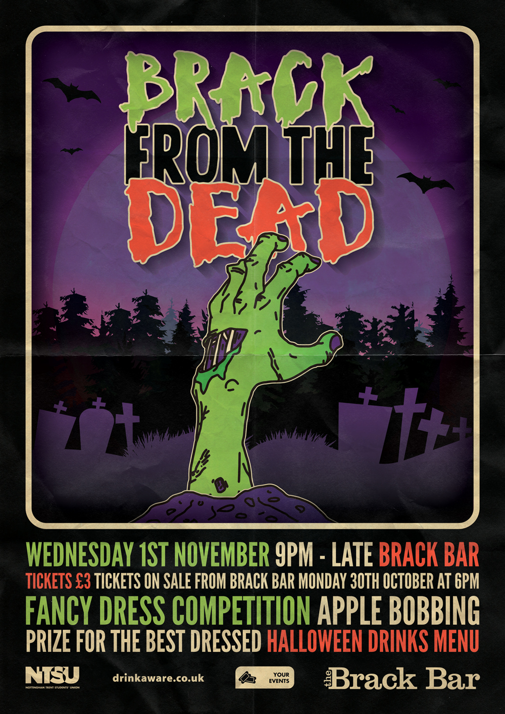 brack-from-the-dead-a3-poster